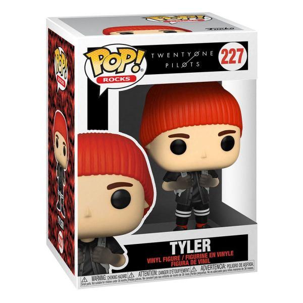 Twenty One Pilots POP! Rocks Vinyl Figure Stressed Out Tyler Joseph 9 cm_fk56731