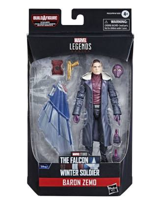 Avengers Disney Plus Marvel Legends Series Akciófigura - Baron Zemo (The Falcon and the Winter Soldier)
