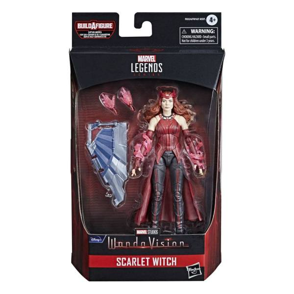 Avengers Disney Plus Marvel Legends Series Akciófigura - Scarlet Witch (WandaVision)