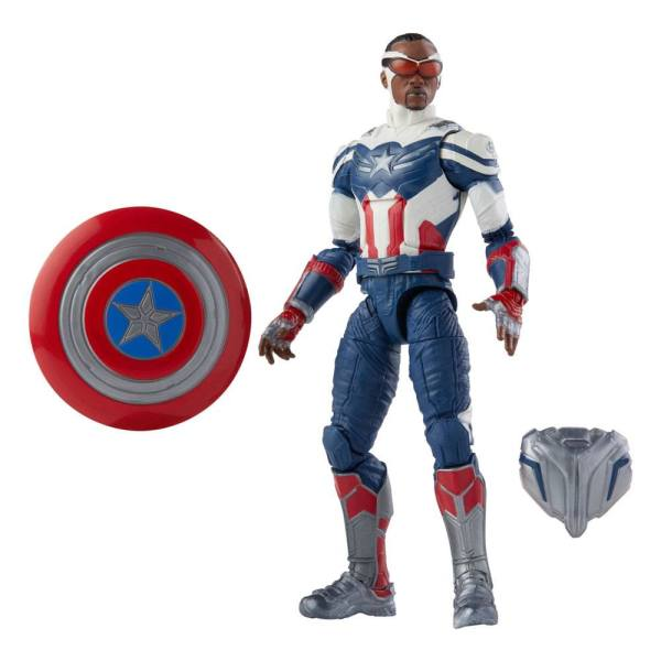 Avengers Disney Plus Marvel Legends Series Akciófigura - Captain America (The Falcon and the Winter Soldier)