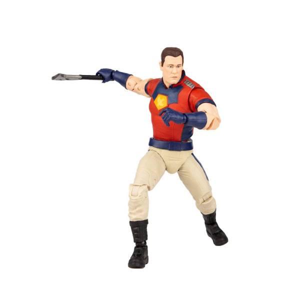 Suicide Squad Build A Action Figure Peace Maker (Unmasked) 18 cm_mcf15448