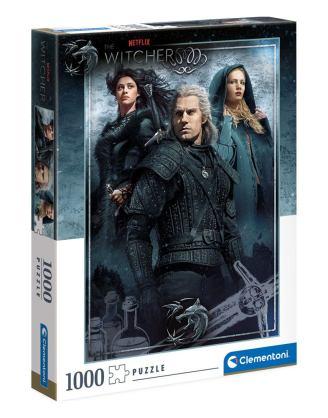 The Witcher Puzzle - Ciri, Yennefer és Geralt (1000 db-os)