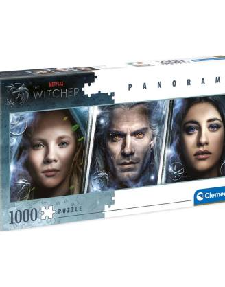 The Witcher Panorama Puzzle - Faces (1000 db-os)