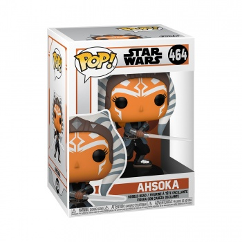 Star Wars: Mandalorian Funko POP! Figura - Ahsoka w/ Sabers 9 cm FK54527