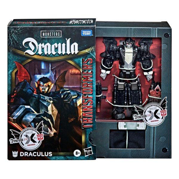 x_hasf0485 Universal Monsters Dracula x Transformers Akciófigura - Draculus 14 cm