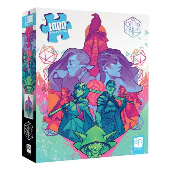 Critical Role Jigsaw Puzzle Mighty Nein (1000 db-os)