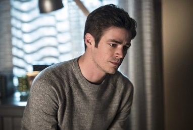 "The Flash -- ""Versus Zoom"" -- Image: FLA218A_0224b.jpg -- Pictured: Grant Gustin as Barry Allen -- Photo: Cate Cameron/The CW -- © 2016 The CW Network, LLC. All rights reserved"
