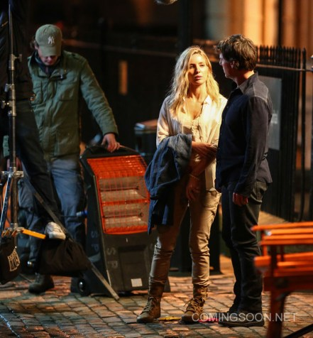 "Tom Cruise and Annabelle Wallis film a scene for the movie ""The Mummy' in Oxford Featuring: Tom Cruise, Annabelle Wallis Where: Oxford, United Kingdom When: 06 Apr 2016 Credit: WENN.com"