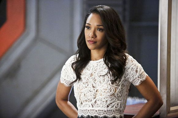 "The Flash -- ""Rupture"" -- Image: FLA220b_0079b.jpg -- Pictured: Candice Patton as Iris West -- Photo: Bettina Strauss/The CW -- © 2016 The CW Network, LLC. All rights reserved."