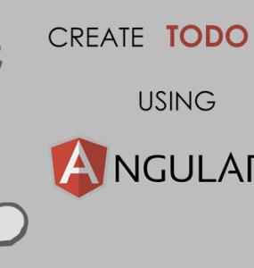 Create Todo List Using AngularJS Properties