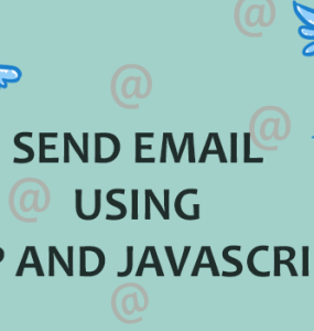 Send Email Using PHP and JavaScript