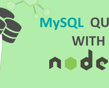 Beginning With NodeJS And MySql Queries