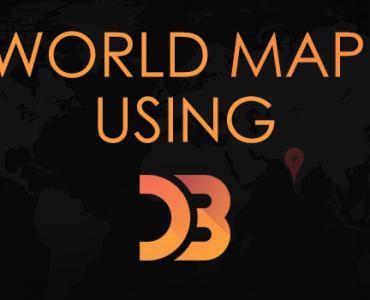 World Map Using D3