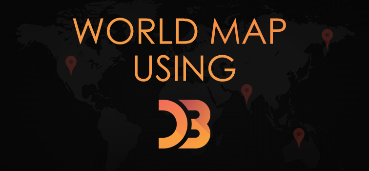 World map using d3 javascript library geeks trick sciox Gallery