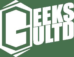 GeeksULTD White Logo PNG