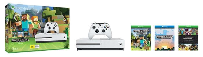 Microsoft's New Xbox One S Minecraft Complete Adventure Bundle