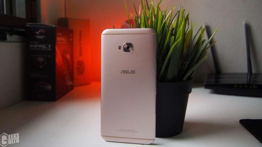 The Asus Zenfone 4 Selfie Pro Back / Rear GeeksULTD