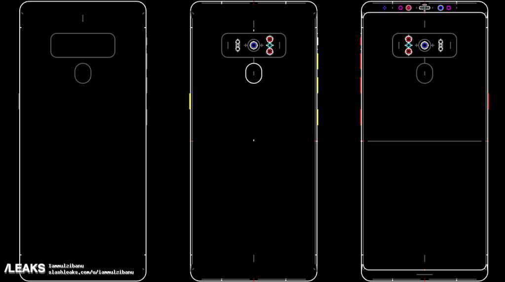 Samsung Galaxy Note 9 Schematics