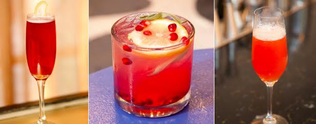 Pomegranate punch - holidays!
