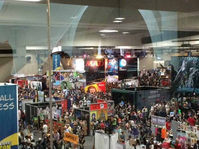 conventionfloorSDCC2015