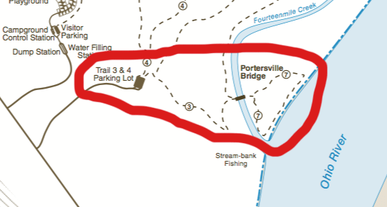 Charlestown State Park Map