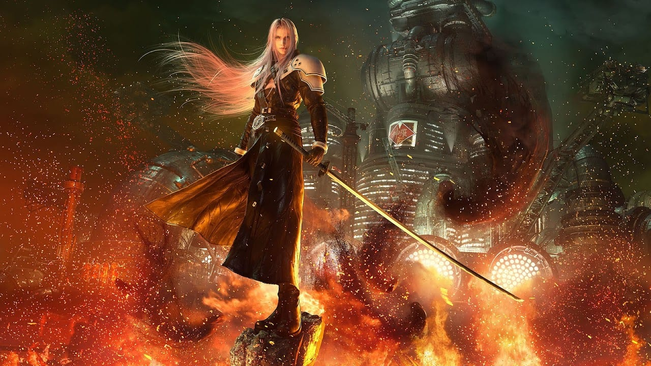 Sephiroth from Final Fantasy 7 Remake