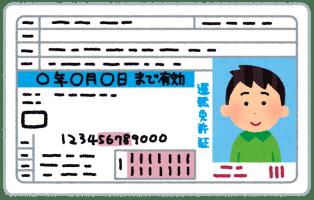 menkyo_blue_man 【試験】運転免許の筆記試験「車は交通標識を守らなくてはならない。」