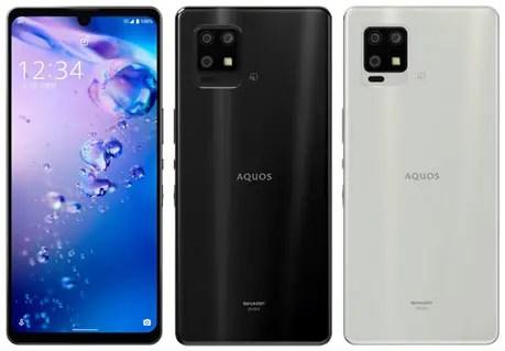 001l-1 【スマホ】au、「AQUOS zero6」を10月上旬以降、「AQUOS sense6」を11月上旬以降に発売