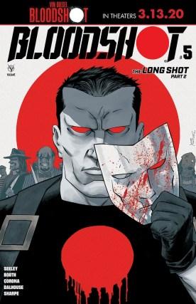 Bloodshot #5 cover art
