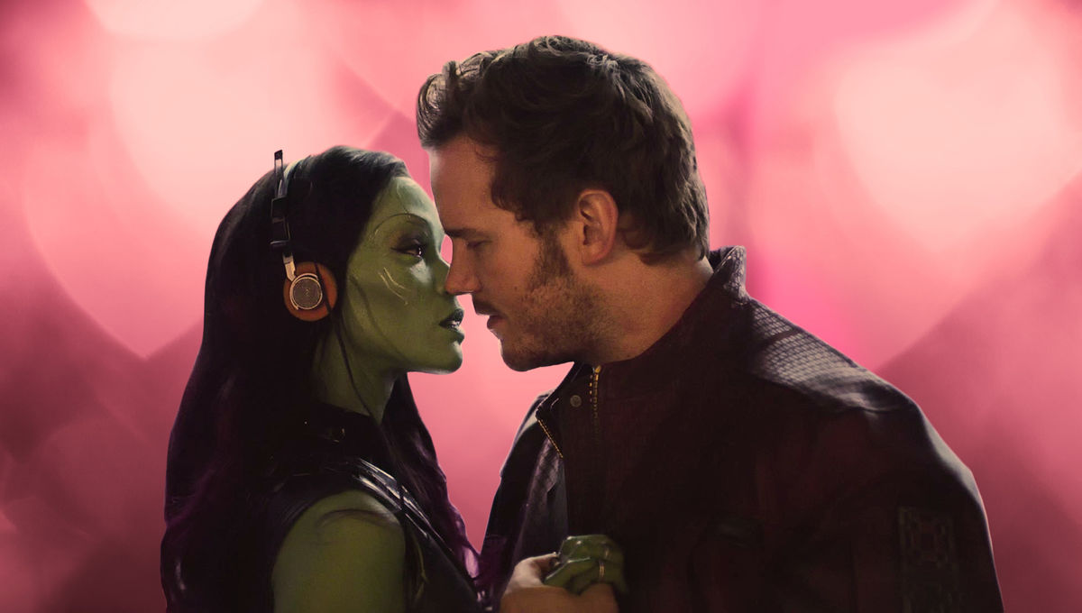 Gamora & Peter Valentine's Day Marvel Cinematic Universe