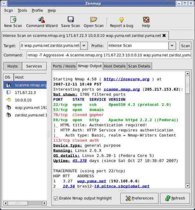 NMAP hacking tools beginners