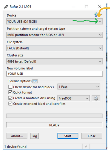 linux bootable usb