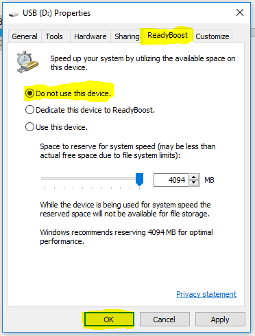use USB as ram