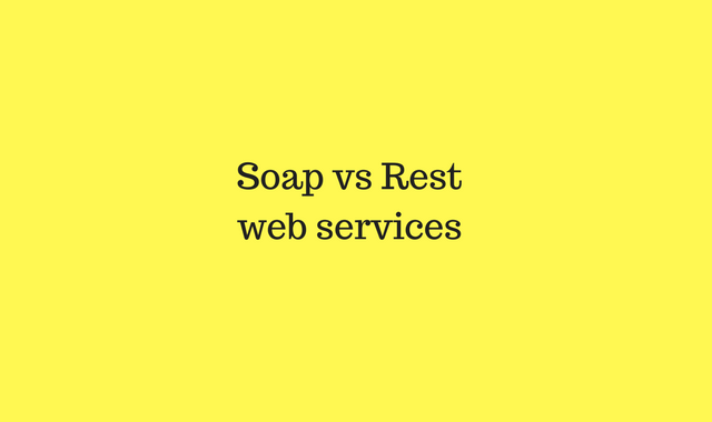 Difference between SOAP and REST