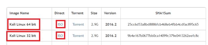 how to install kali linux on virtualbox