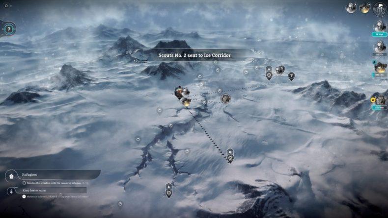 Frostpunk térkép