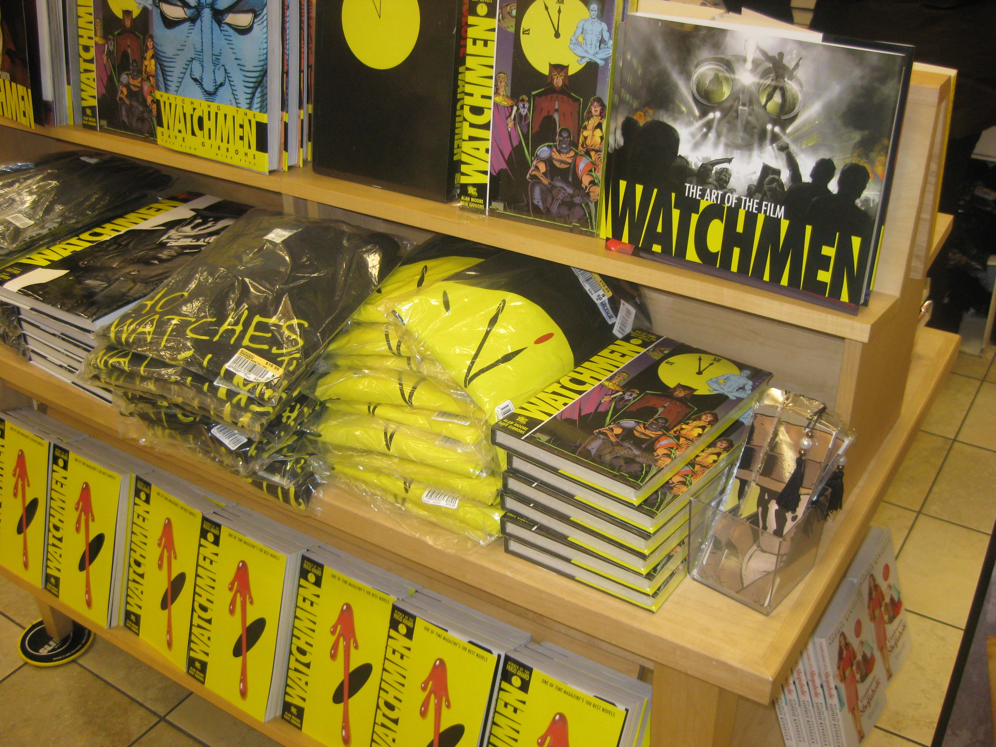 Watchmen Table Borders