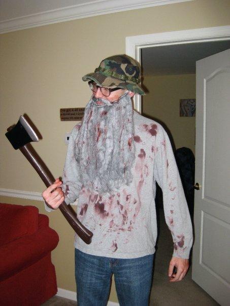 Axe Murderer Halloween Costume