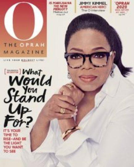 O Magazine Cover