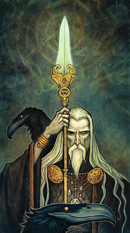 Norse Gods Art