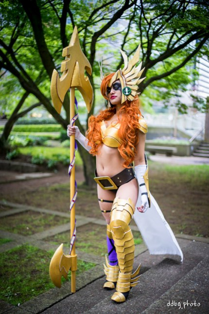 Angela from Spawn Cosplay