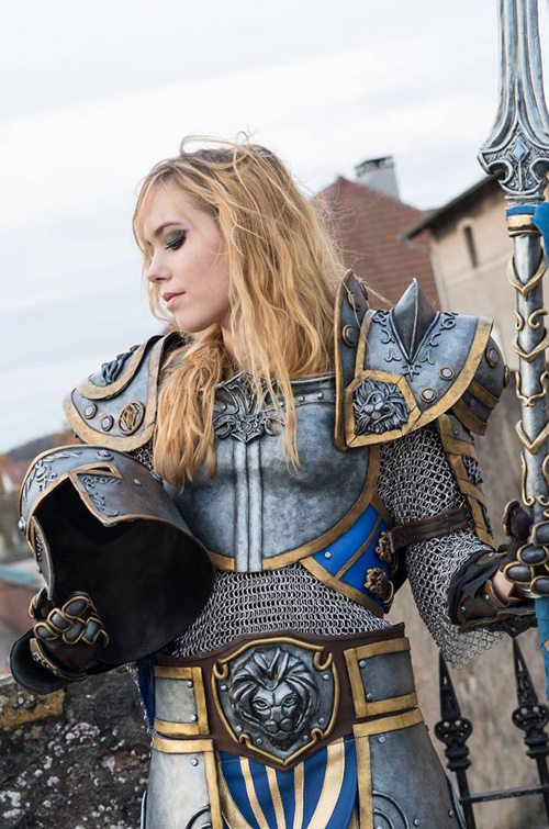 Stormwind Guard From Warcraft Cosplay