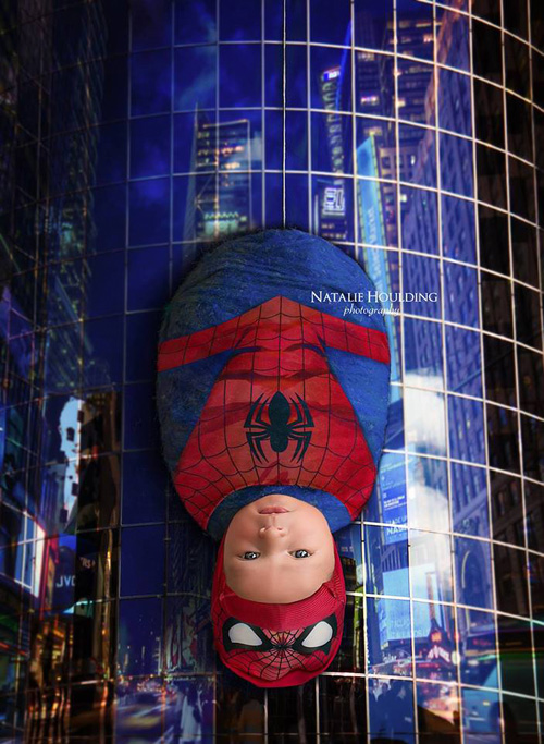 Adorable Superhero Amp Sci Fi Newborn Photoshoots