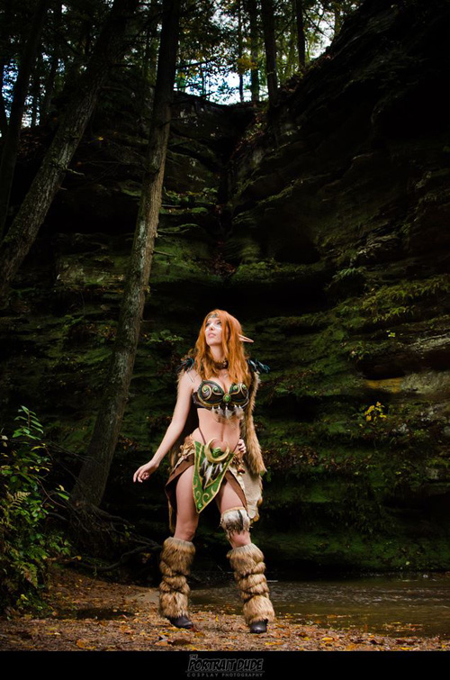 Elvish Druid Fantasy Cosplay
