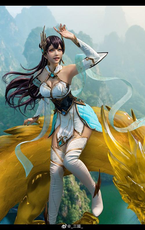 Divine Sword Irelia From League Of Legends Cosplay