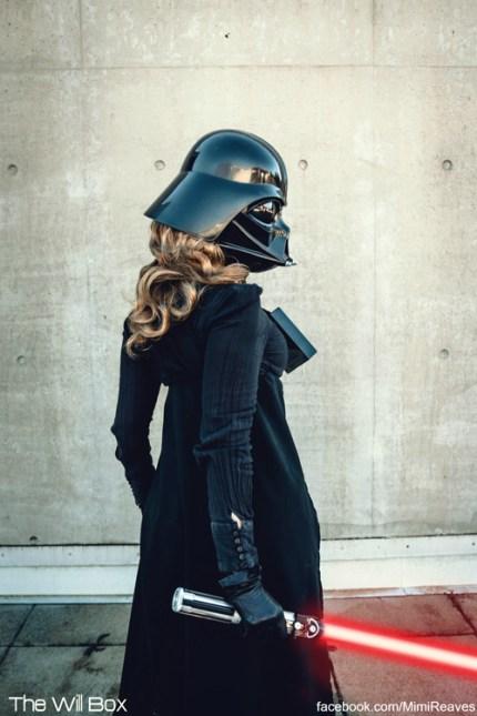 Darth Vader Photoshoot