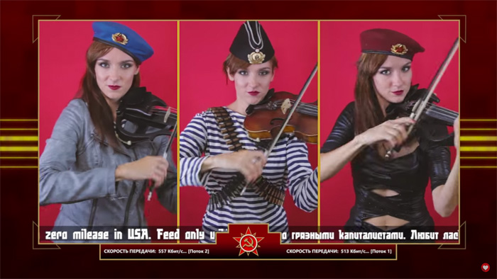 CampC Red Alert 3 Theme Soviet March Violin Cover