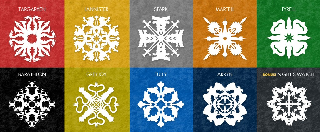 Geeky Snowflake Patterns