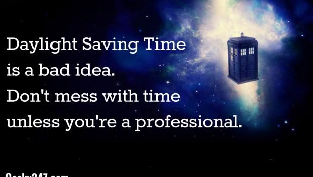 daylight saving doctor who