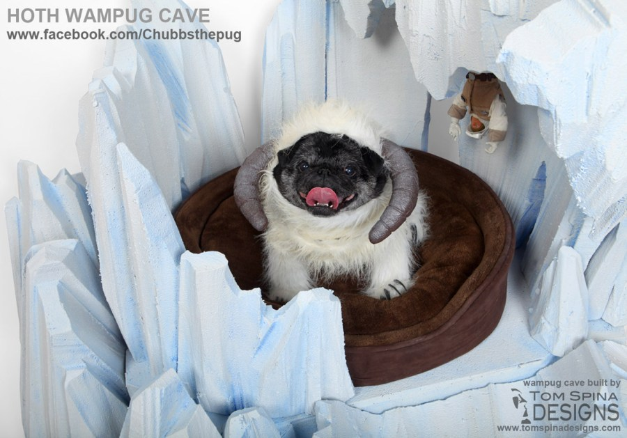 dog wampa costume